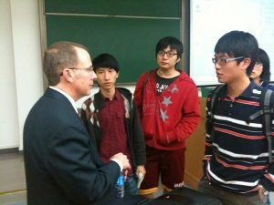 educational consultant and college counselor for Ivy League students from China and other international countries