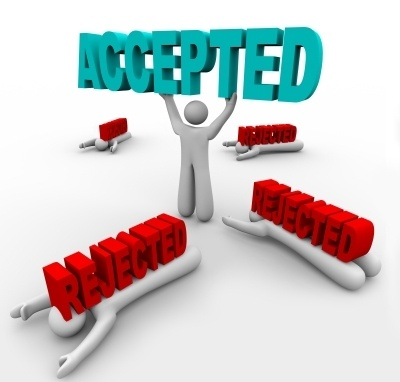 accepted person among rejected people