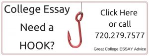 Need a Hook for your College Essay