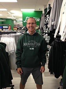 Mark Montgomery at Manhattan College