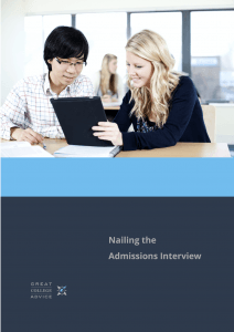 Prepare for college admissions interview with this comprehensive e-book