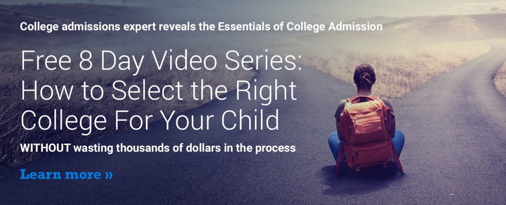 Video Course for College Admissions