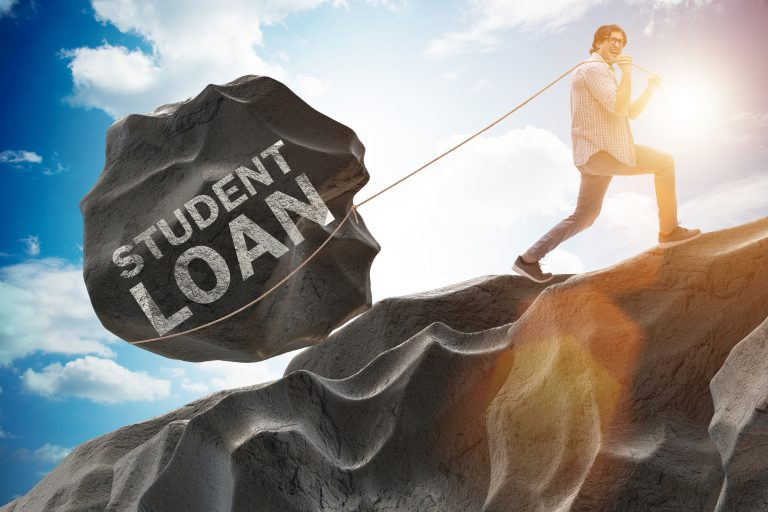 student debt can be a heavy burden
