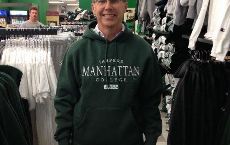 Mark Montgomery at Manhattan College
