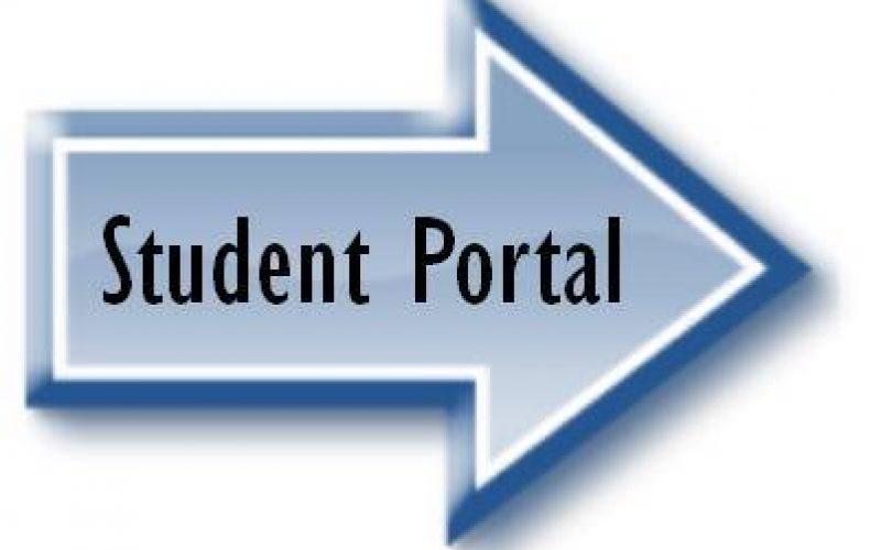 Student Portal Arrow
