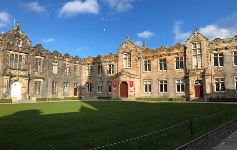 Study at University of St. Andrews in Scotland as an American