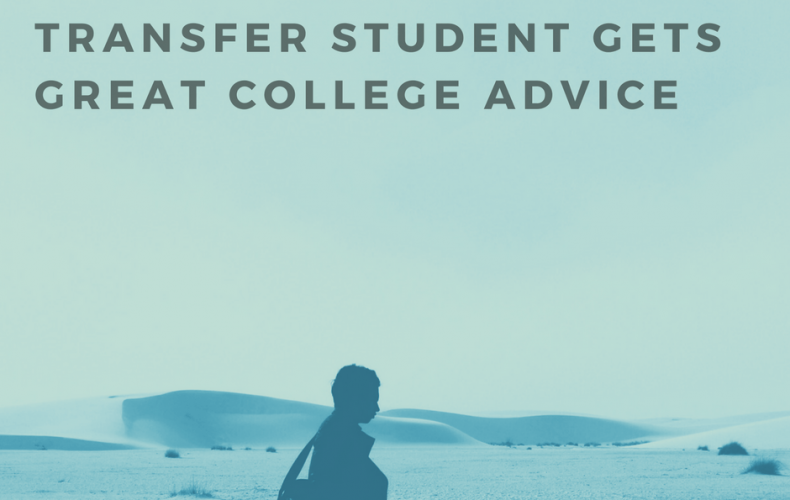 Transfer Student Gets Great College Advice