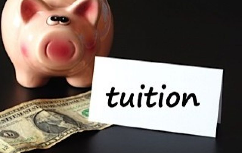Tuition money piggy bank