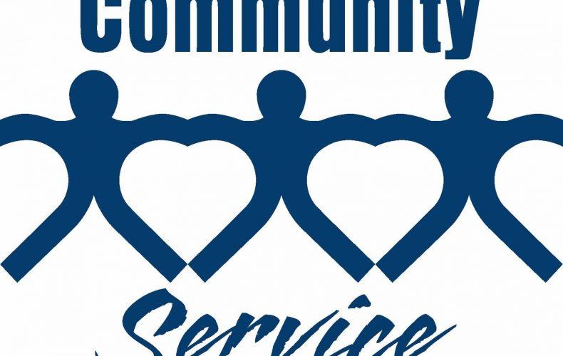 community service with paper people, community service in college application